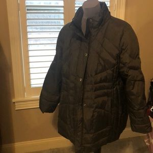 London Fog like new 1x parka car coat